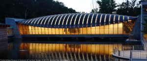"""""""Crystal Bridges Museum of American Art"""" by Kevin Dooley, CC BY 2.0, Modified from the original. See credits page for additional details."""